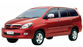 Toyota Innova 6+1  Seating Car